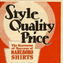 Image of Marlboro Shirt Front