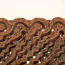 Image of #14a  Intricate Copper India Batik Design- Textile Hand Stamp