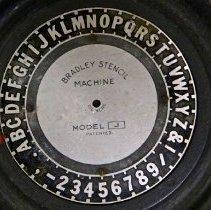 Image of #26a  Bradley Stencil Machine