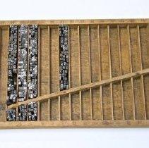 Image of #40  Graduated Printers Type Case
