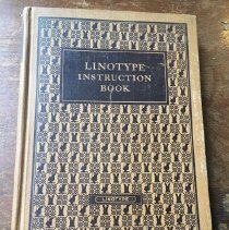 Image of Linotype Instruction Book