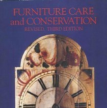 Image of TT199.M4 1989 - Furniture Care and Conservation