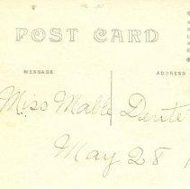 Image of Postcard Verso