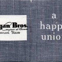 Image of Hogan Bros. Booklet - Booklet