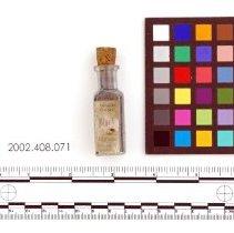 Image of Bottle of metallic powder - Powder, Metallic