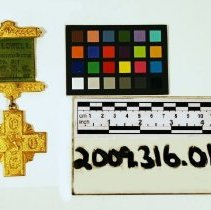 Image of Hallowell Commandery Badge - Medal