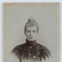 Image of Ethel Maud Perry - 1890 circa