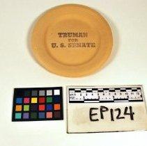 Image of Truman Plate - Ephemera, Political