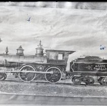 Image of MCR #64 Arthur Sewell, and Eastern Railroad #19 - 1877 ca.