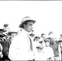 Image of Man and Crowd, ca. 1920 - 1920 circa