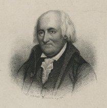 Image of Christopher Gadsden document set - 1775 January 20 [letter]; 1870 [engraving].