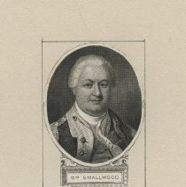 Image of William Smallwood document set - 1778 June 10 [letter]; n.d. [engraving].