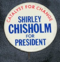Image of Shirley Chisholm for President