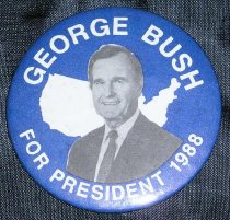 Image of George Bush for President 1988