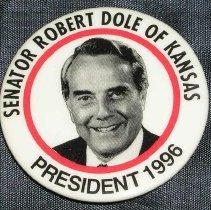 Image of Senator Robert Dole of Kansas
