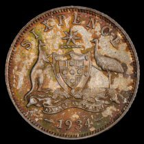 Image of 6 pence, Australia rev