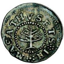 Image of Massachussetts, Pine Tree shilling obv