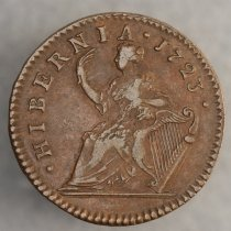 Image of Woods Hibernia 1/2 penny