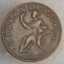 Image of Hibernia 1/2 Penny