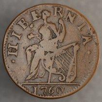 Image of 1/2 Penny Hibernia