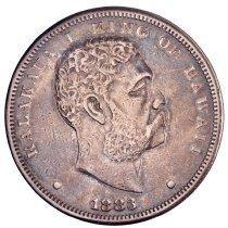 Image of US Hawaiian 1883 Dollar O.