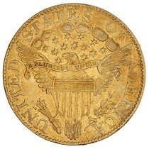 Image of US Half Eagle Capped Bust to Right 1804 R.