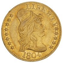 Image of US Half Eagle Capped Bust to Right 1804 O.