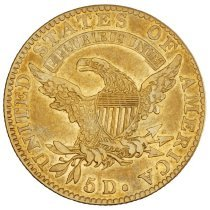 Image of US Half Eagle Capped Head to Left 1823 R.
