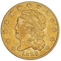 Image of US Half Eagle Capped Head to Left 1823 O.