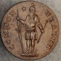 Image of Massachusetts Cent  Arrows in Left Talon 1787 O.