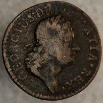Image of Word's Hibernia Farthing 1723 O.