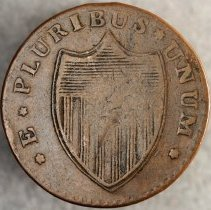 Image of New Jersey Coppers Protruding Tongue 1786 R.