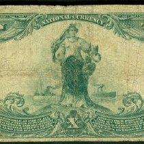 Image of Commercial National Bank, Nebraska: Ten Dollar r