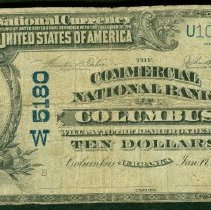 Image of Commercial National Bank, Nebraska: Ten Dollar o