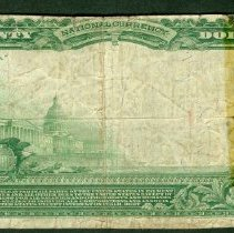 Image of The Wood County National Bank of Wisconsin Rapids: Twenty Dollar r