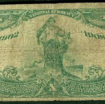 Image of First National Bank of Elk City: Ten Dollar r