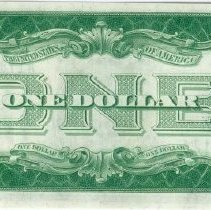 Image of Silver Certificate One Dollar r
