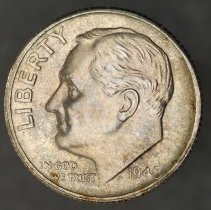 Image of 1948 S Roosevelt Dime, Breen 3709, US - 1984.0072.0698