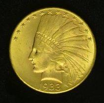 Image of 1933 $10 o