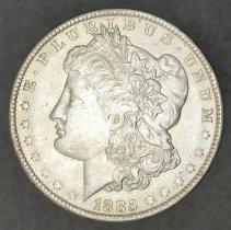 Image of 1885 O Morgan Dollar O.
