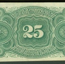 Image of 1863 25 Cents US B