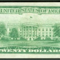 Image of 20 Dollar Federal Reserve Note, US B.