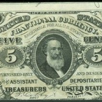 Image of 1864 5c Fractional Currency, Third Issue F.