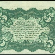 Image of 1864 5c Fractional Currency, Third Issue B.