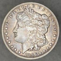 Image of Obverse: 1896 O Morgan dollar