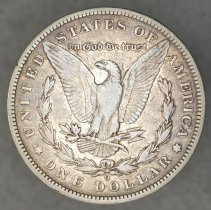 Image of Reverse: 1896 O Morgan dollar