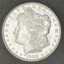 Image of Obverse: 1903 O Liberty Head Morgan Dollar