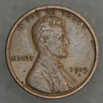 Image of 1919 D Wheat Back Small Cent