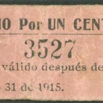 Image of 1915 1 Centavo, Mexico