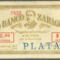Image of 1924 10 Pesos, Mexico